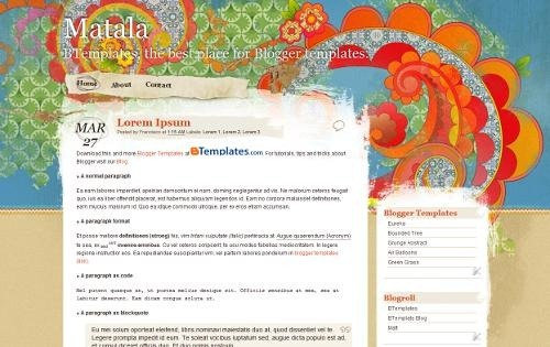 matala-theme-for-blogger