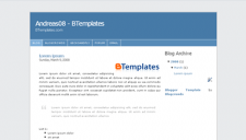 Andreas08 Blogger Template
