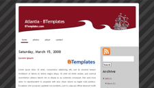 Atlantia Blogger Template