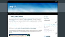 Azul Blogger Template