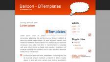 Balloon Blogger Template