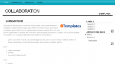 Collaboration Blogger Template