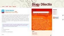 Dilectio Blogger Template