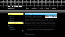 Wiremesh Blogger Template