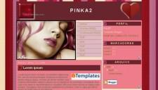 PinkA2 Blogger Template