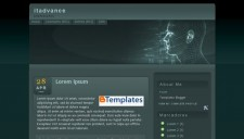 Itadvance Blogger Template
