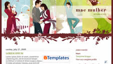 Mae Mulher Blogger Template
