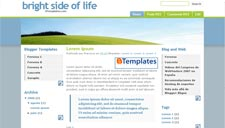 Bright Side of Life Blogger Template