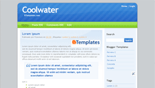 Coolwater Blogger Template