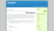 Envision Blogger Template