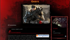Gears Blogger Template