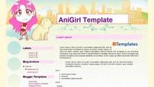 AniGirl Blogger Template