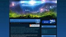 Astro Blogger Template