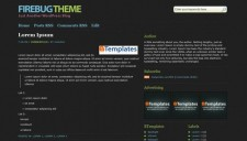 Firebug Blogger Template
