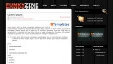 FunkyZine Blogger Template