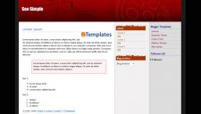 Soo Simple Blogger Template