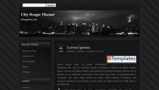 City Scape Blogger Template