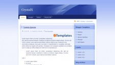 CrystalX Blogger Template