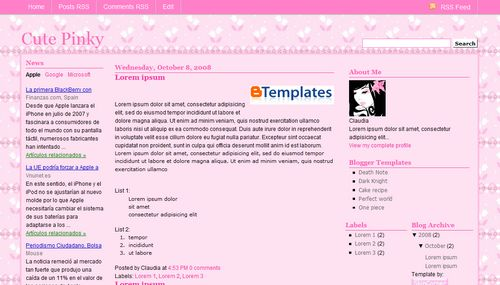 cute backgrounds for blogs. dec http free-cute-log