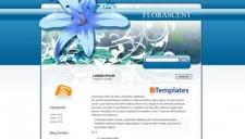 Florascent Blogger Template