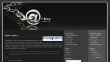 i-Blog Blogger Template