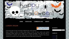 Kelleyroo Halloween Blogger Template
