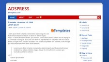 Adspress Blogger Template