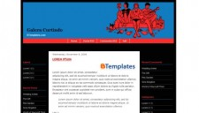 Galera Curtindo Blogger Template
