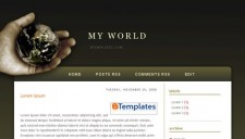My World Blogger Template