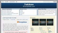 Tekikon Blogger Template