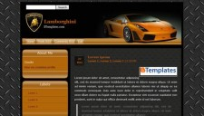 Lamborghini Blogger Template