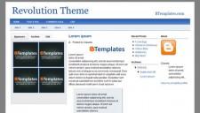 Revolution Theme Blogger Template