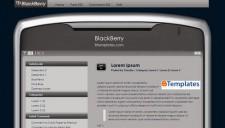 BlackBerry Blogger Template