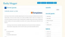 Flashy Blogger Blogger Template