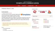 Codigo Geek Blogger Template