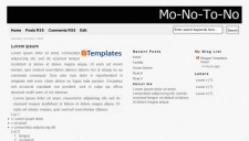 Monotono Blogger Template
