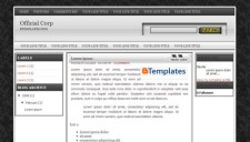 Official Corp Blogger Template