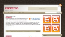 ZinePress Blogger Template