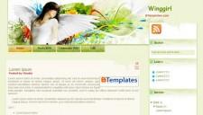 Winggirl Blogger Template