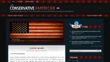 Conservative American Blogger Template