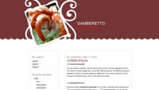 Gamberetto Blogger Template