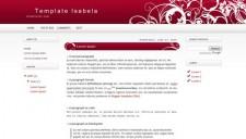 Isabela Blogger Template