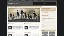 Magasin Uno Blogger Template