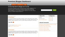 Premium Blogger Dashboard