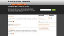 Premium Blogger Dashboard