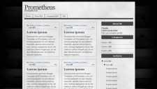 Prometheus Blogger Template