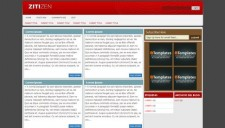 Zitizen Blogger Template