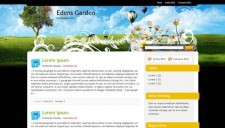 Edens Garden Blogger Template