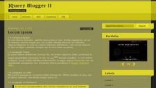 JQuery Blogger II Blogger Template