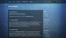 Irresistible Blogger Template